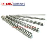 CNC da precisão que faz à máquina o eixo linear do aço inoxidável de Brasss