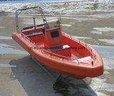 Aqualand 26pies 8m EVA Foamtube sólido rígido Fender patrullera militar de rescate (rib800).