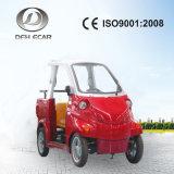 Het elektrische In werking gestelde Voertuig Met lage snelheid van het Nut van 2 Zetels Mini