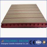 De houten Geperforeerde Correcte Bouwmaterialen van het Akoestische Comité