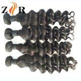 Extensão brasileira do cabelo de Remy do Virgin profundo natural do Weave do cabelo humano da onda