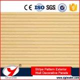 Longue durée Pattern Waterlight Stripe mur extérieur de panneaux décoratifs