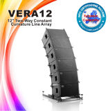 """Vera12는 12 """" 사운드 시스템 선 배열 스피커를 노래한다"""