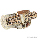 Пользовательские моды декоративные Rhinestone Преднатяжитель плечевой лямки ремня безопасности из натуральной кожи контакт для леди