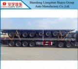 di 40FT di contenitore 4axles di trasporto della piattaforma rimorchio semi