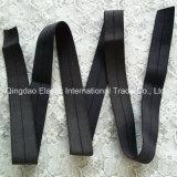 19mm Noir ou Couleur élastique tissés au cours de pliage