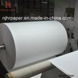 80GSM高速印刷のポリエステル織物のための速い乾燥した昇華転写紙