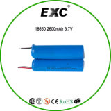 banco 2600 mAh do poder 18650 3.7V com a bateria recarregável do Lítio-Íon do PWB