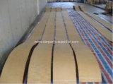 Rullo modellato del rivestimento dei freni per la pista