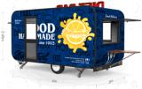 Chariot mobile chinois de nourriture de remorque de restauration de chariot de nourriture