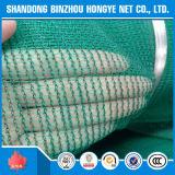 Rede de segurança feita malha Net/HDPE verde da construção da máscara do andaime