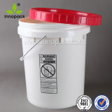 20L 5 Gallon Screw Lid Plastic Bucket Pail
