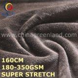 Tela feita malha Polyester/Sp super do estiramento para a matéria têxtil do vestuário (GLLML494)