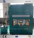 Bastidor estructura duradera la placa de tipo vulcanización Press con máquina de superior calidad