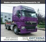 Euro II-IV camion de bonne qualité d'entraîneur de 340-460HP HOWO A7