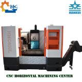 Centro de mecanización horizontal del CNC del almacenaje 3axis de las láminas del disco del OEM Hmc40