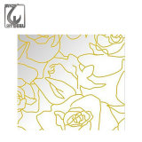Color Mirror Etched 304 Decorative Stainless Steel Plate with Best Price