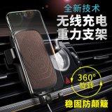 Alquiler de Coche Aireador Soporte Soporte cargador inalámbrico para teléfonos móviles