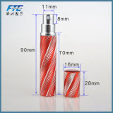 8ml旅行のためのアルミニウム携帯用詰め替え式の香水瓶
