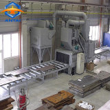 Macchina di granigliatura della strumentazione di pulizia della trave di acciaio della struttura d'acciaio