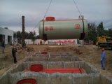 Sfのファイバーガラスの倍の壁の地下の燃料タンク