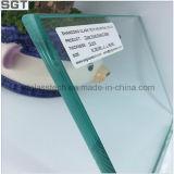 vidro de segurança endurecido 12mm com vidro desobstruído