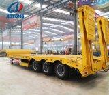 Het op zwaar werk berekende Verlengbare Lage Semi Bed van 3 As/de Aanhangwagens van de Vrachtwagen