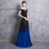 Lovemay Dame-Frauen-Satin-Sleeveless Abend-Partei-Abschlussball-Kleid