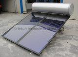 chauffe-eau solaire fendu compact en pente de plaque plate du toit 300L