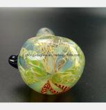 4.92 Zoll-Glaspfeife des Filter-Tabak-Glas-Rohres