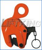 Grampo de elevação vertical e braçadeira de elevação horizontal para fábrica de aço