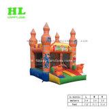 虹の膨脹可能な警備員、子供のための弾力がある城