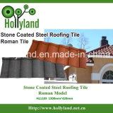 Telha de telhado de aço revestida de pedra (telha romana)