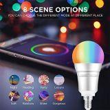 Vida inteligente Smart Phone APP controlado remotamente as lâmpadas de LED sem fio de marcação/RoHS/Certificados FCC