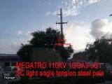 Megatro 110kv 1gga3-Jg1 Sc-heller Winkel-Spannkraft-Stahl Pole