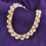 Luxury Dubai gold Plating Rhinestone Costume Fashion Jewelry set