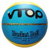 8 panneaux deux couleurs Gold Line caoutchouc Basket-ball des jouets pour la promotion