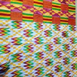 40/2 Hilo de poliéster tejido Kente para África África en busca de los comerciantes locales