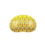 صفراء لون هبة [بكينغ بوإكس] قصدير صندوق ([ب001-ف22])