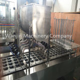 Machine de remplissage et d'étanchéité de la capsule de café automatique automatique Caffitaly