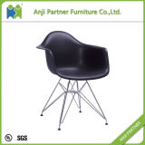 Место PP мебели дома общего пользования при рамка металла обедая стул (коралл)