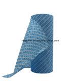 Abwischende Tuch nicht gesponnene Spunlace Reinigungs-Wegwerfwischer