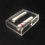 Magnetic Lid를 가진 공장 Custom Clear Lipstick Packaging Box Acrylic Lipstick Storage Box