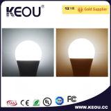 Vente en gros ronde économiseuse d'énergie d'ampoule du prix usine E27 DEL petite