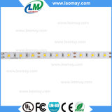 IP20 Super Brillo SMD3528 LED tira 80-90LM / W decorar la luz