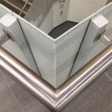 Maille perforée en métal, Feuille de trou d'escalier de perforation