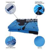 Microfiber große komprimierte Tücher, die kampierende Sport-Zudecke schwimmen