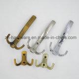 Hochwertiger schöner Kleidung-Haken hölzern u. Metallvorstand-Haken (ZH-7014A)