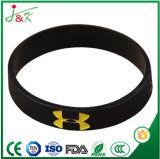 Kundenspezifischer SilikonWristband, Gummiband für Dekoration