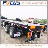 Reboque especial do veículo de Fuwa de 3 eixos para o transporte de recipiente